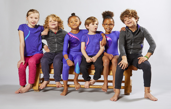 LAGAD active wear clothing range for children